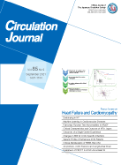 Circulation Journal Volume 85