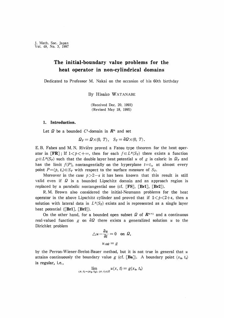 initial boundary value problem pdf